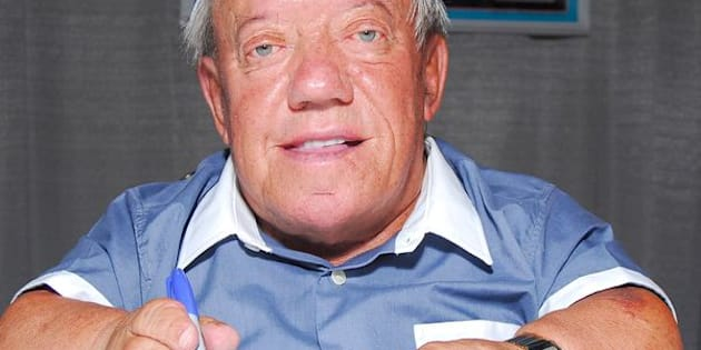 LOS ANGELES, CA - MAY 27:  Actor Kenny Baker who played R2-D2 in the Star Wars movies, appears at the 'Star Wars Celebration IV' convention, held at the Los Angeles Convention Center on May 27, 2007 in Los Angeles, California.  (Photo by Michael Tullberg/Getty Images)