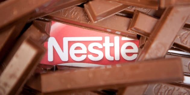KitKat chocolate wafer bars, one of many Nestle products. (Photo by: Newscast/UIG via Getty Images)