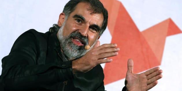 El líder de Òmnium Cultural, Jordi Cuixart, en una imagen de archivo.