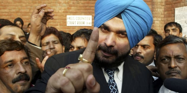 File photo of former Indian cricketer and lawmaker Navjot Singh Sidhu.