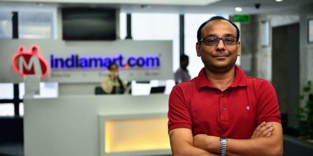 Dinesh Agarwal, Founder and CEO of IndiaMart.com