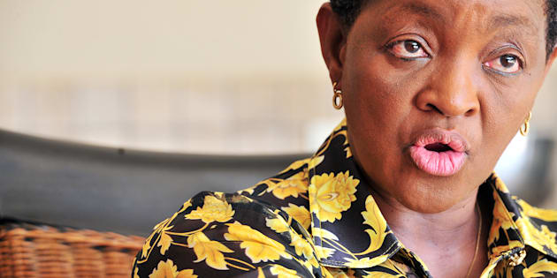 "Bathabile Dlamini: ""Sorry, not sorry""."
