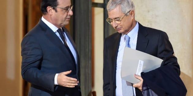 Francois Hollande et Claude Bartolone
