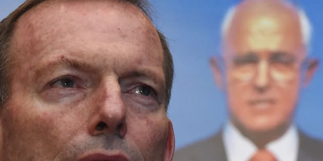 Tony Abbott and Malcolm Turnbull are feuding. Again.
