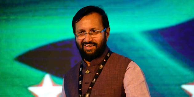 Minister Prakash Javadekar made a speech that could be the biggest blooper in the Indian history had it not been for a full stop.