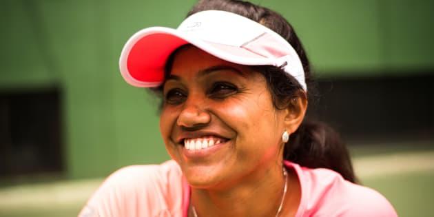 Prathima N. Rao started playing tennis in 2012.