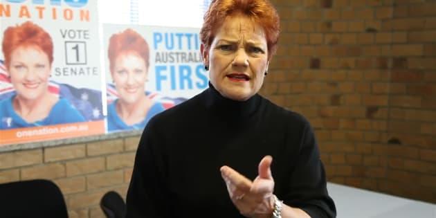 Pauline Hanson's One Nation has won four Senate seats.