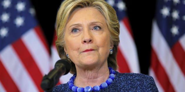 File photo of U.S. Democratic presidential nominee Hillary Clinton.