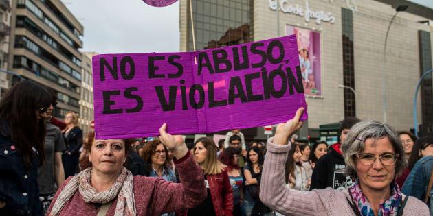 Manifestación en Alicante contra la sentencia de La Manada, el pasado 28 de abril.