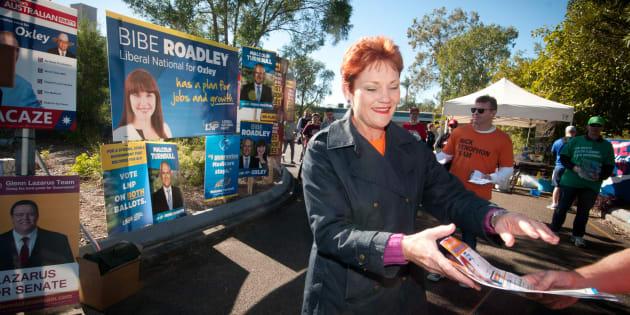 Pauline Hanson, senator.