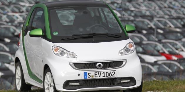 La Smart ForTwo reste la voiture la plus volée en France en 2016.
