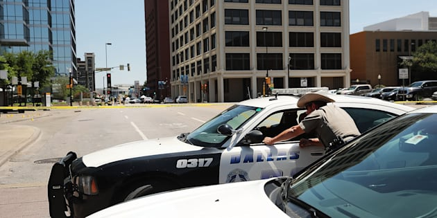 Another threat against police has been reportedly received in Dallas.