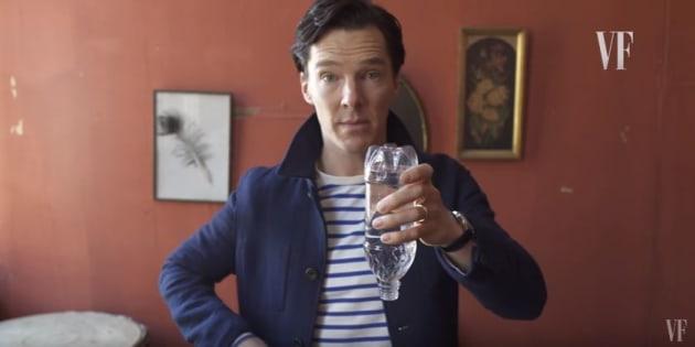 Benedict Cumberbacth s'est livré à un petit tour de magie.