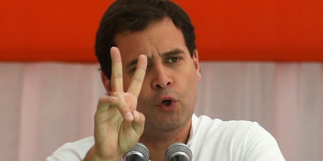 India's main opposition Congress party's vice-president Rahul Gandhi.
