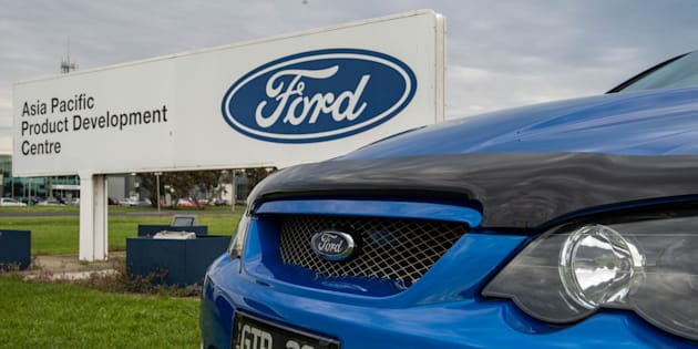 Ford will end car production in Australia today.