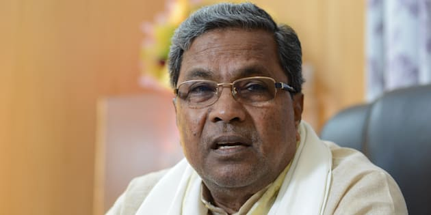 File photo of Karnataka Chief Minister K Siddaramaiah.