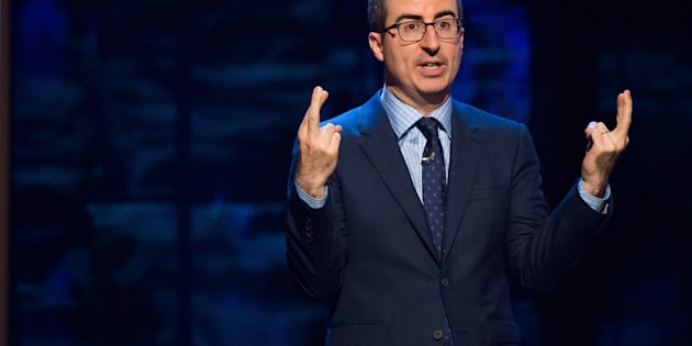 John Oliver  has taken aim at the Republican party for its support of Donald Trump