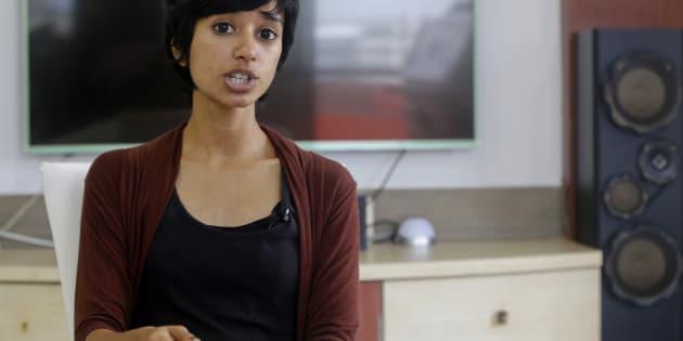 File photo of Indian rapper Sofia Ashraf.