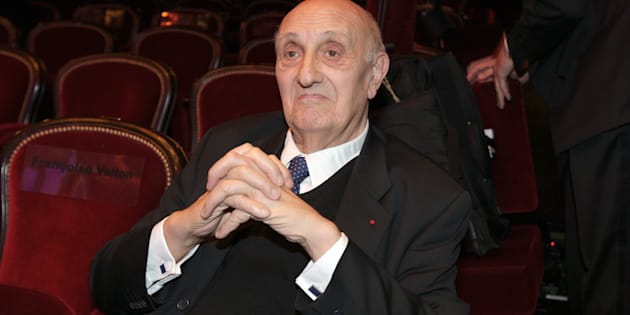 Pierre Tchernia au théâtre du Châtelet à Paris en 2008.