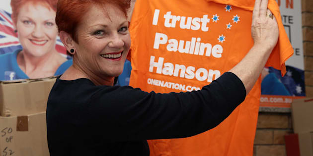 Half of Australia agrees with Pauline Hanson