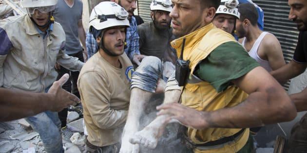 Hollywood veut le prix Nobel de la paix 2016 pour les Casques blancs de Syrie