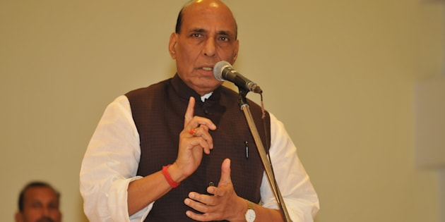 Union Home Minister Rajnath Singh. (Photo by Pardeep Pandit/Hindustan Times via Getty Images)