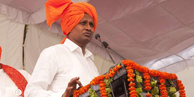 File photo of BJP leader Udit Raj.