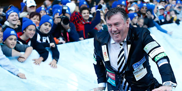 Eddie McGuire has tried to explain his actions.