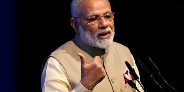 Narendra Modi speaks during the United Nations Vesak Day Conference in Colombo, Sri Lanka May 12, 2017. REUTERS/Dinuka Liyanawatte
