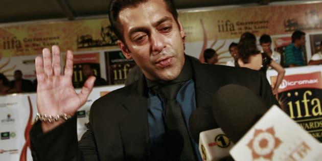 File photo of Bollywood actor Salman Khan.