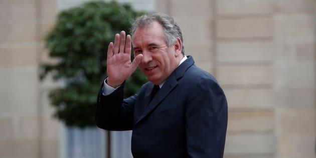 François Bayrou nommé ministre de la Justice du gouvernement Édouard Philippe