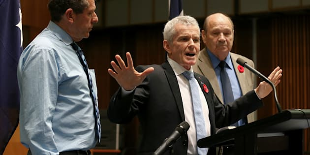 Senator Malcolm Roberts presented his report to media on Monday.