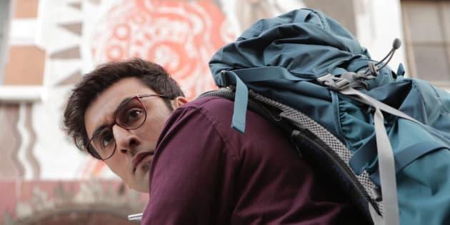 Ranbir Kapoor in a promotional still from 'Jagga Jasoos'.