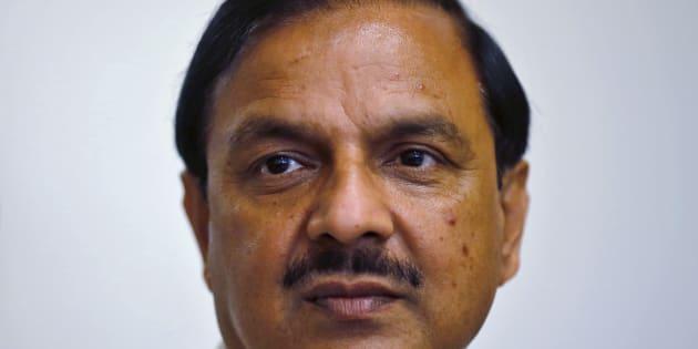 File photo of India's Culture Minister Mahesh Sharma in New Delhi, on 23 September, 2015.