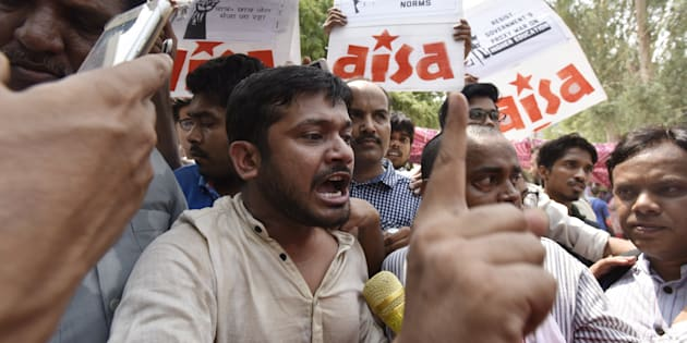 Kanhaiya was arrested in February this year in a sedition case.