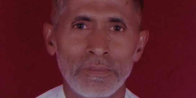 GREATER NOIDA, INDIA - SEPTEMBER 29: File photo of 50-year-old man Mohammad Akhlaq, he was killed by a mob over an allegation of storing and consuming beef at home, late night on Monday, on September 29, 2015 in Greater Noida, India. (Photo by Burhaan Kinu/Hindustan Times via Getty Images)