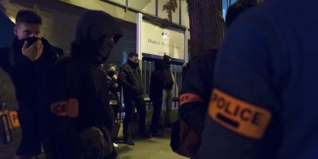 Les policiers multiplient les actions de revendications, largement soutenues par le FN.