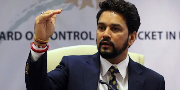 Anurag Thakur, newly-elected president of Board of Control for Cricket in India (BCCI)