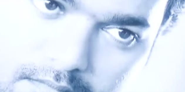Vijay in a still from his film 'Sura'.