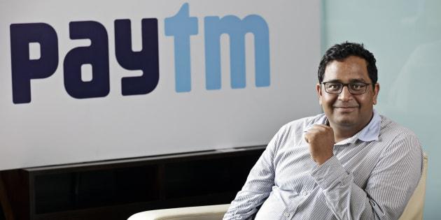Vijay Shekhar Sharma, founder and chairman of One97 Communications Ltd, which operates PayTM,