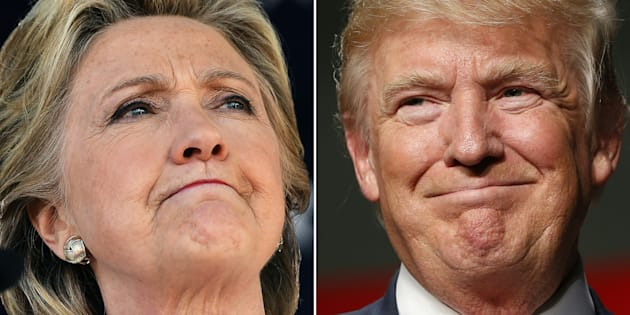 A sample size of 1,200 Indians in India was asked to choose between Hillary and Trump.
