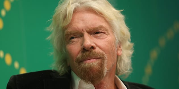 Sir Richard Branson is supporting HJillary Clinton's tilt for the White House.