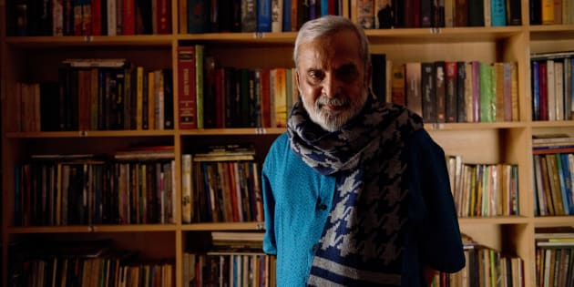 U.R. Ananthamurthy in 2014. (Photo by Aniruddha Chowdhury/ Mint via Getty Images)