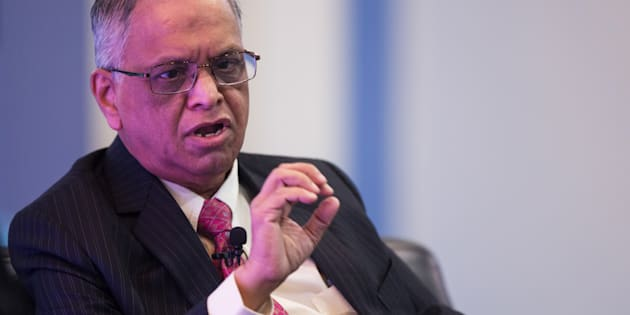 N.R. Narayana Murthy, co-founder of Infosys