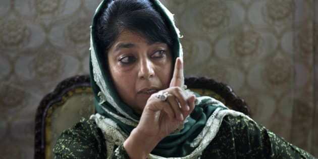 The chief minister of Jammu and Kashmir, Mehbooba Mufti. (AP Photo/Dar Yasin)