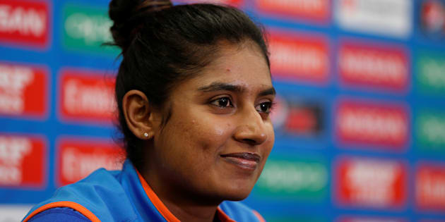 India's Mithali Raj during a press conference.