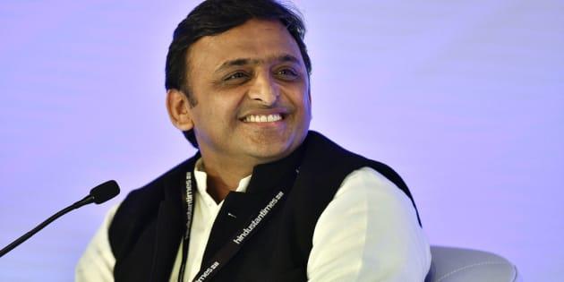 File photo of Uttar Pradesh Chief Minister and Samajwadi Party leader Akhilesh Yadav.