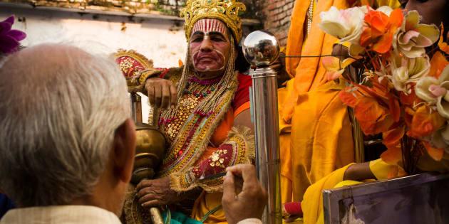 Ram Navami is a Hindu festival, celebrating the birth of Lord Rama to King Dasharatha of Ayodhya.
