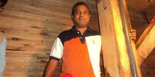 File photo of Pandithar Sivakumar Perumal from his Facebook profile.