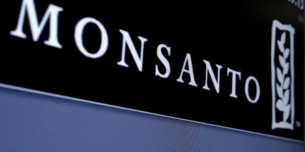 File photo of Monsanto logo.